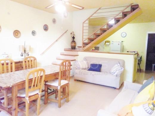 Maison adossée avec terrasses et garage à Ampuriabrava