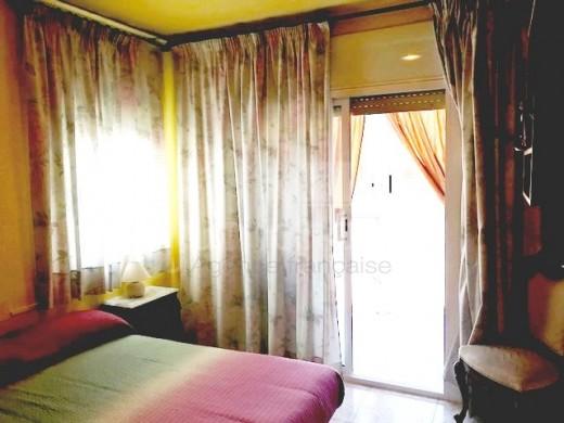 4 chambres, 130 m2, centre ville, 150m de la plage