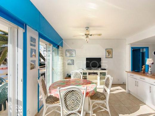 Appartement à 50m de la plage avec piscine communautaire