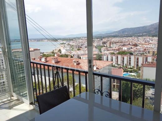 2 chambres, vue mer et parking privé