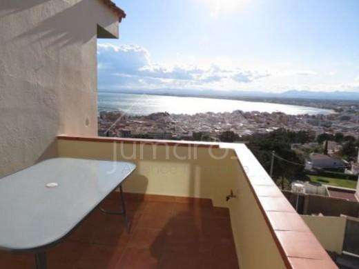 Bel appartement avec vue mer et baie de Roses