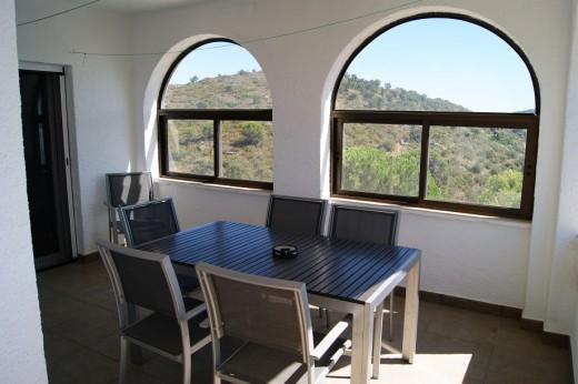 Belle maison avec vue mer sur les hauteurs d'Els Grecs à Roses