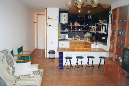 Studio équipé avec amarre privée à Rosas Santa Margarita