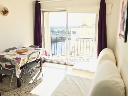 Appartement avec jolie vue sur réserve naturelle, à 100m de la plage