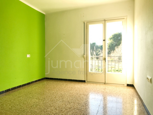3 chambres, 88 m2, garage privé, à 350m de la plage de Roses
