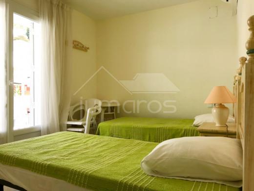 3 chambres, 83 m2, vue mer et parking privé