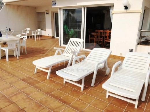Grand Appartement au pied de la mer avec parking privé à Santa Margarita