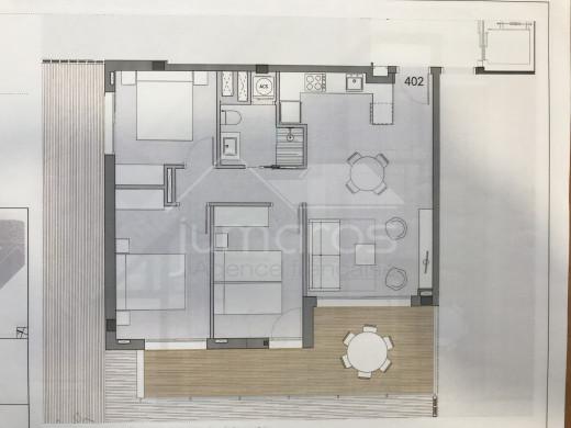 PROMOTION NEUVE : 3 chambres, 4ème étage à 200m de la plage