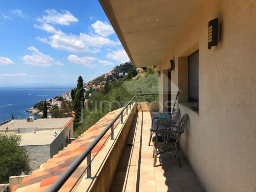 5 chambres, moderne , 174m2, vue mer avec piscine à Canyelles