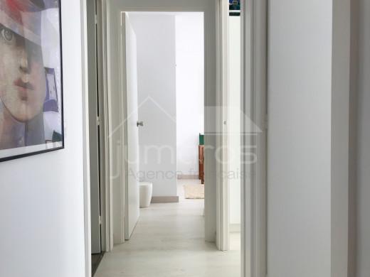 3 chambres, rénové, terrasse, vue mer, Canyelles