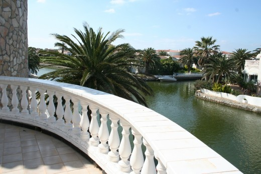 vue canal de la terrasse