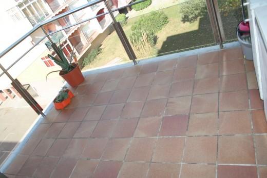 Terrasse spacieuse