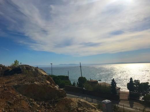Projet clés en main: vue mer panoramique à Canyelles