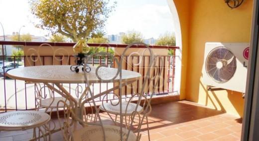 Appartement avec terrasse, en 1ere ligne mer, Empuriabrava