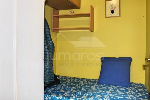 Appartement 2 chambres, terrasse avec vue canal
