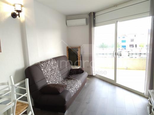 Joli appartement avec vue canal sur Empuriabrava