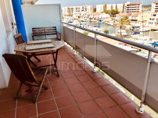 2 Chambres, Grande terrasse, Parking, Vue canal, Amarre