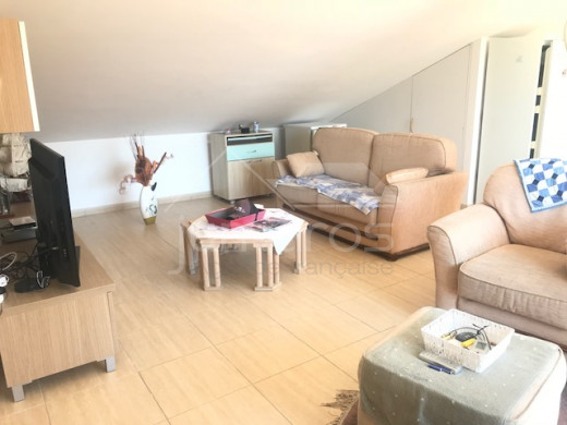 Duplex, 3 chambres, 96m2, terrasse 40m2