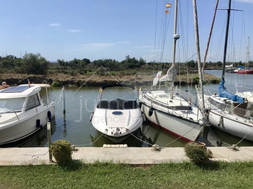 3 chambres, parking, vue canal et réserve naturelle