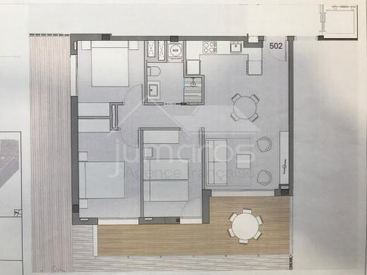 PROMOTION NEUVE : 3 chambres, 5ème étage à 200m de la plage