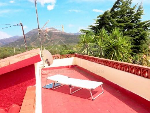 Maison individuelle avec jardin privé et solarium à Roses