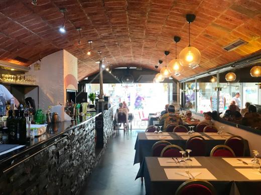 Fond de commerce: Restaurant dans le centre de Roses