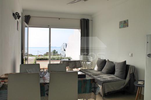 Appartement en première ligne de mer