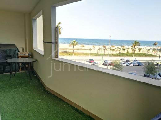 3 chambres, garage, parking, vue mer et devant plage